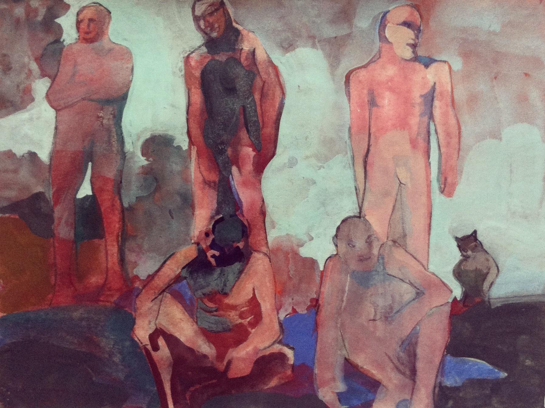 TBrown_bathers_1970