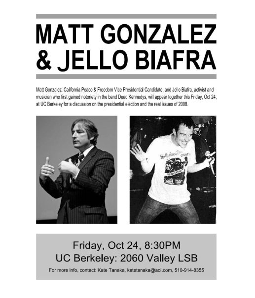 Jello Biafra Mayor Featuring Jello Biafra