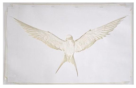 adam-feibelman-arctic-tern-2017-hand-cut-paper-assemblage-45-x-65-inches0a
